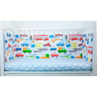 Бортик в кроватку Magic City Час пик 45x60 см