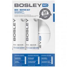 Bosley MD Система от выпадения и для стимуляции роста для неокрашенных волос