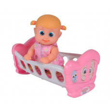 Bouncin' Babies Кукла Бони с кроваткой 16 см