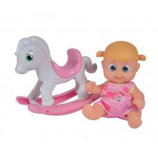 Bouncin' Babies Кукла Бони с лошадкой-качалкой 16 см