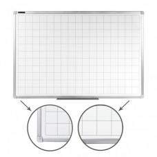 Brauberg Доска магнитно-маркерная линовка алюминиевая рамка 60х90 см