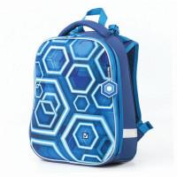 Brauberg Premium Ранец с 2-мя отделениями и брелоком для мальчиков Техно