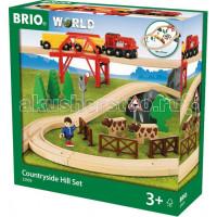 Brio Игровой набор Поездка по сельской местности с мостом