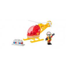 Brio Игровой набор Спасательный вертолет 3 элемента
