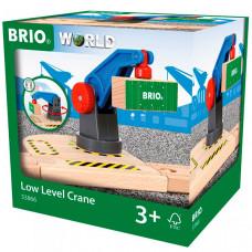 Brio Игровой набор вращающийся подъемный кран на магните с грузом