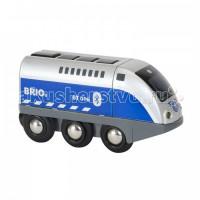 Brio Игрушечный паровозик на ИК-управлении Оскар (свет, звук)