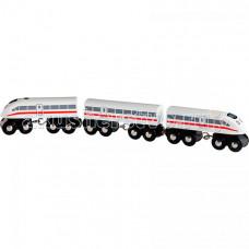 Brio Пассажирский экспресс-поезд со звуком Деревянный