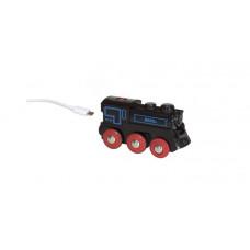 Brio Подзаряжаемый паровоз с mini USB кабелем