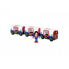 Brio Поезд из 3-х вагонов Лондонское Метро