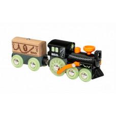 Brio Поезд-Призрак светящийся в темноте