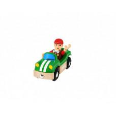 Brio Спортивная машинка с фигуркой