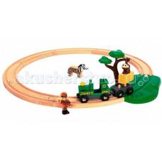 Brio Железная дорога Сафари игровой набор с мартышкой