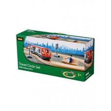Brio Железная дорога со светофором 15 элементов