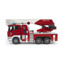 Bruder Игрушечная пожарная машина Scania с лестницей и модулем