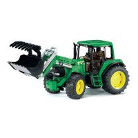 Bruder Игрушечный Трактор John Deere 6920 с погрузчиком
