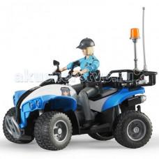 Bruder Полицейский квадроцикл с фигуркой 63-010
