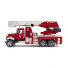 Bruder Пожарная машина MACK с лестницей и модулем
