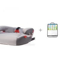 Бустер Heyner SafeUp Fix XL и Защитная накидка ProtectionBaby на спинку переднего сиденья автомобиля