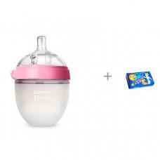 Бутылочка Comotomo Natural Feel Baby Bottle 150 мл и мыло Тик-так 150 г Свобода