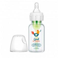 Бутылочка Dr.Brown's Антиколиковая Options+ с узким горлышком Стеклянная Петушок 120 мл