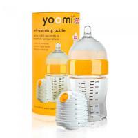 Бутылочка Yoomi с подогревателем средний поток 240 мл