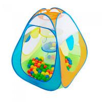 Calida Палатка-домик с корзиной + 100 шаров Конус