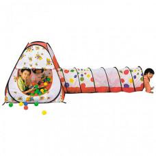 Calida Палатка-домик с туннелем + 100 шаров Конус