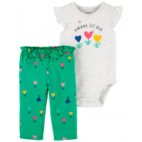 Carter's Комплект для девочки (боди, брюки) 1K523310