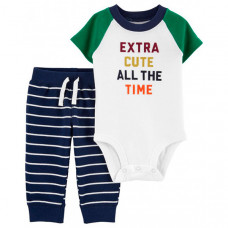 Carter's Комплект для мальчика (боди, брюки) 1L552710