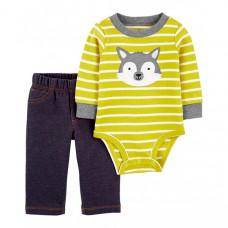 Carter's Комплект для мальчика (полукомбинезон, брюки) 1J953310