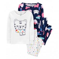 Carter's Пижама для девочки с кошками 2 шт.