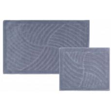 Castafiore Naturale Mulinello Комплект ковриков для ванной комнаты хлопковый 60х100 см 2 шт.