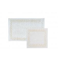 Castafiore Naturale Pietre Комплект ковриков для ванной комнаты хлопковый 60х100 см 2 шт.