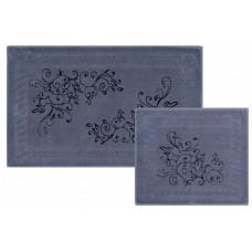 Castafiore Naturale Vite Комплект ковриков для ванной комнаты хлопковый 60х100 см 2 шт.