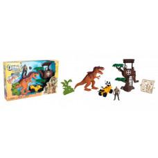 Chap Mei Игровой набор Охотник на динозавра Дом на дереве
