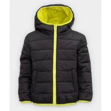Черная куртка Button Blue 121BBBB41010800