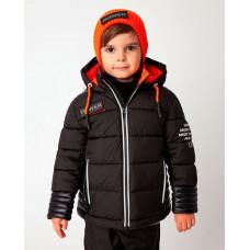 Черная куртка демисезонная Gulliver 22006BMC4101