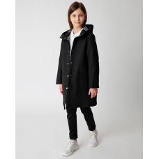 Черное пальто Gulliver