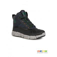Черные ботинки Geox J049XDLCL54C4428