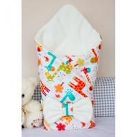 CherryMom Конверт-одеяло Жирафики (демисезон)