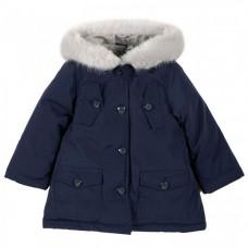 Chicco Куртка для девочек с белым мехом