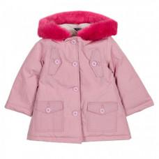 Chicco Куртка для девочек с розовым мехом