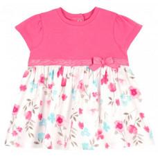 Chicco Платье с цветами и бантиком