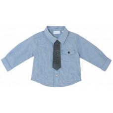 Chicco Рубашка для мальчика с галстуком