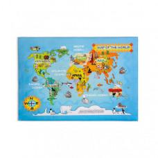 Cilek Ковер Soft Gravity World Carpet 100х150 см
