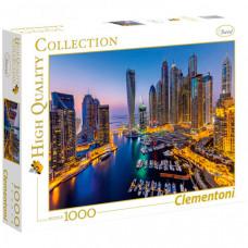 Clementoni Пазл Классика Ночной Дубай (1000 элементов)