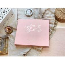Coctailbaby Фотоальбом для девочки от 0 до 5 лет с карточками для фотосессии