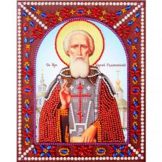 Color Kit Картина фигурными стразами Святой преподобный Сергий Радонежский