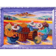 Color Kit Набор для вышивания бисером Цветочницы