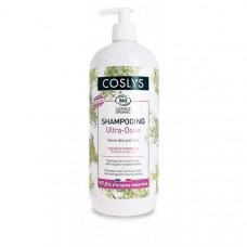 Coslys Шампунь для нормальных волос с органической таволгой 1000 мл